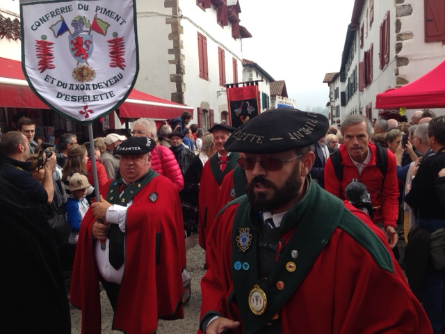 Visita de la DOP Pimentón de Murcia a Espelette