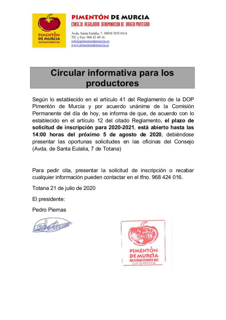 PLAZOS SOLICITUDES DE INSCRIPCION-2020